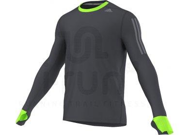 d4f30f9044626 adidas Tee-Shirt Supernova M homme Noir pas cher