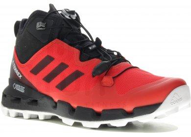 05c05510b62 adidas Terrex Fast Mid Gore-Tex-Surround M homme Rouge pas cher