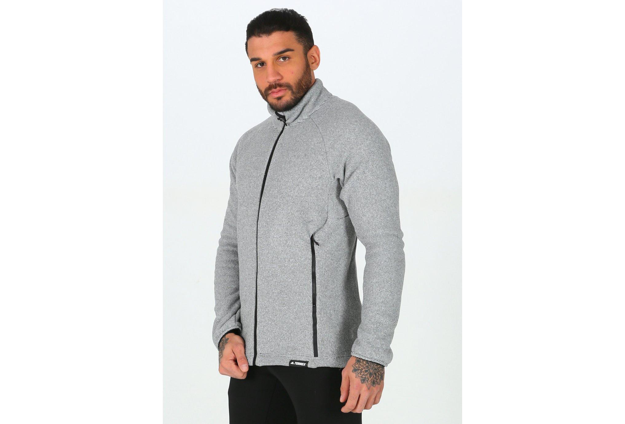 adidas Terrex Knit Fleece M vêtement running homme