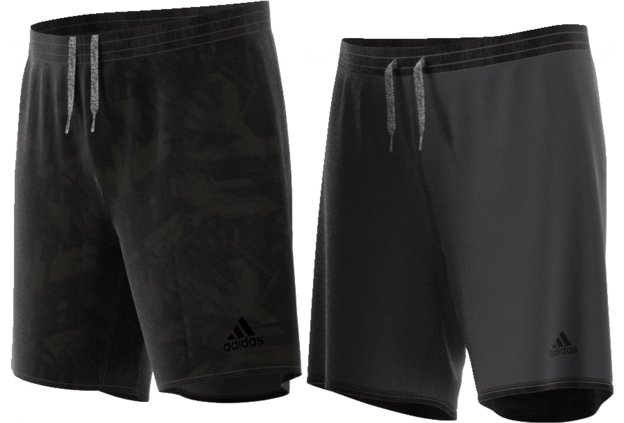 adidas TKO Réversible 17cm M vêtement running homme
