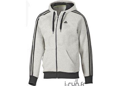 veste adidas capuche adidas Veste Capuche Essential 3S pas cher ... 28fa4446c34