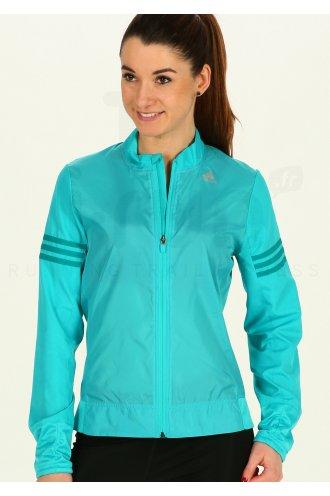 Adidas Veste Response bleu turquoise femme pas cher