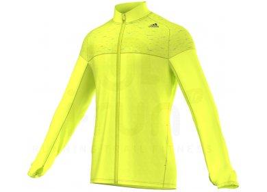 Veste jaune fluo adidas