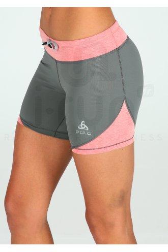 Odlo Cuissard court Hana W pas cher - Vêtements femme running Shorts ... 6562ae1448d