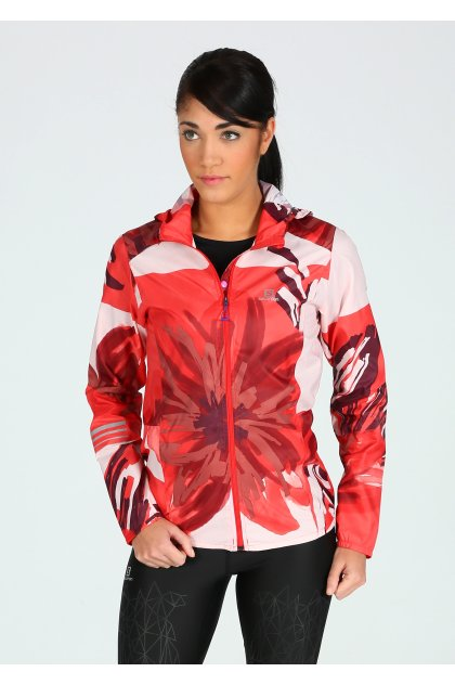 Salomon Chaqueta Lightning Wind Graphic Hoodie