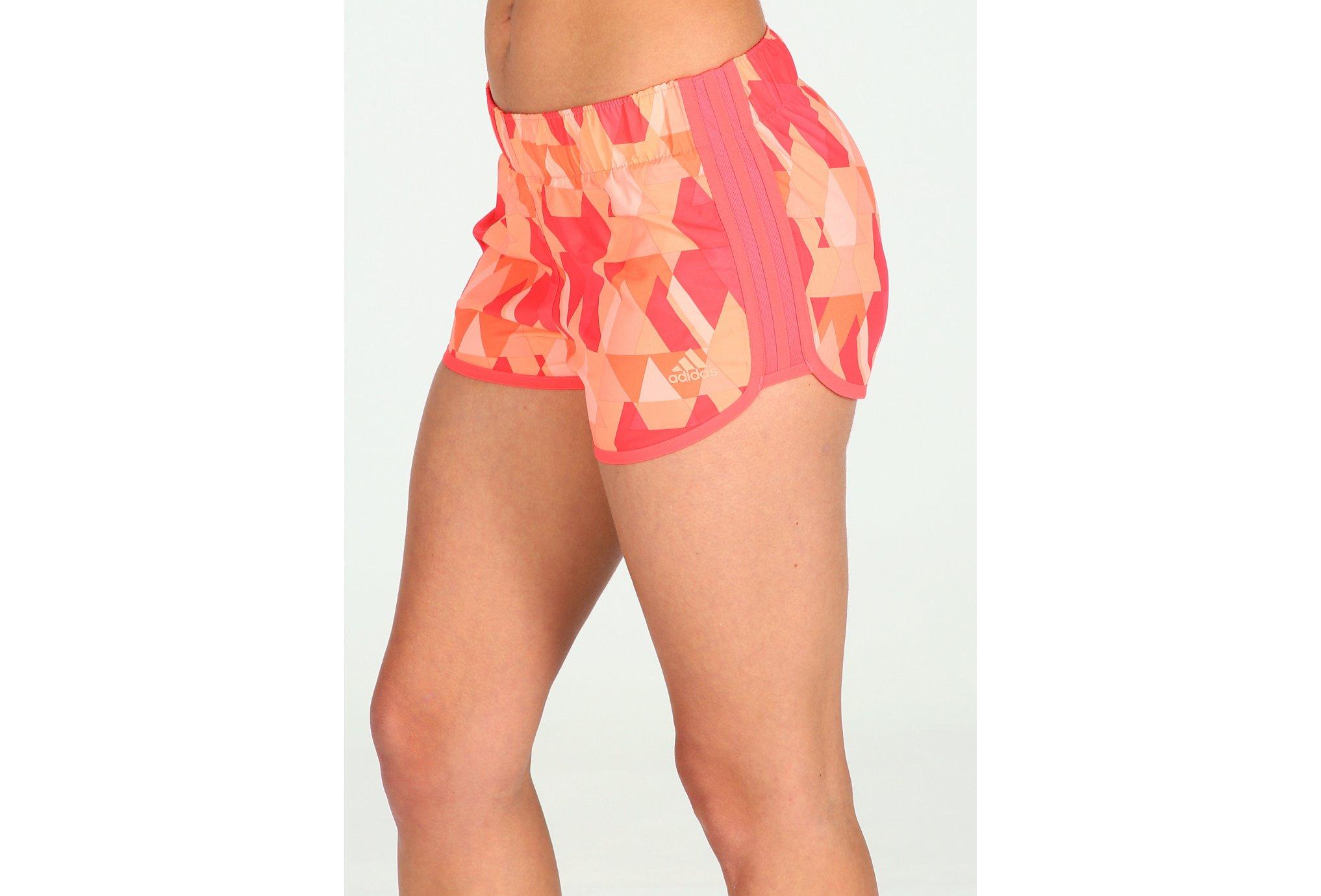 adidas Short Graphic M10 W Diététique Vêtements femme