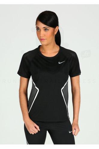 c5582a2f1160 Nike Dri-Fit Miler W femme Noir pas cher