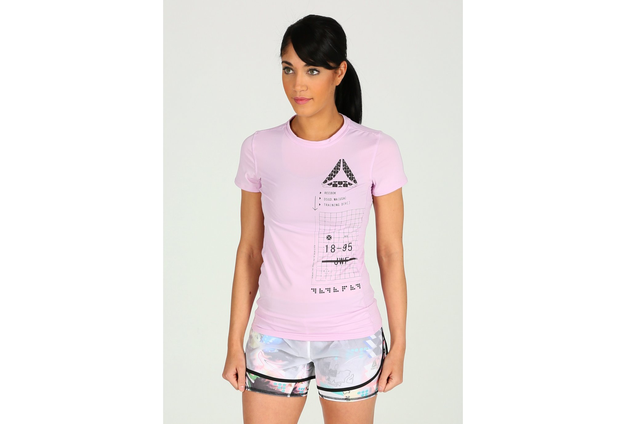 Reebok ActivChill Graphic W Diététique Vêtements femme