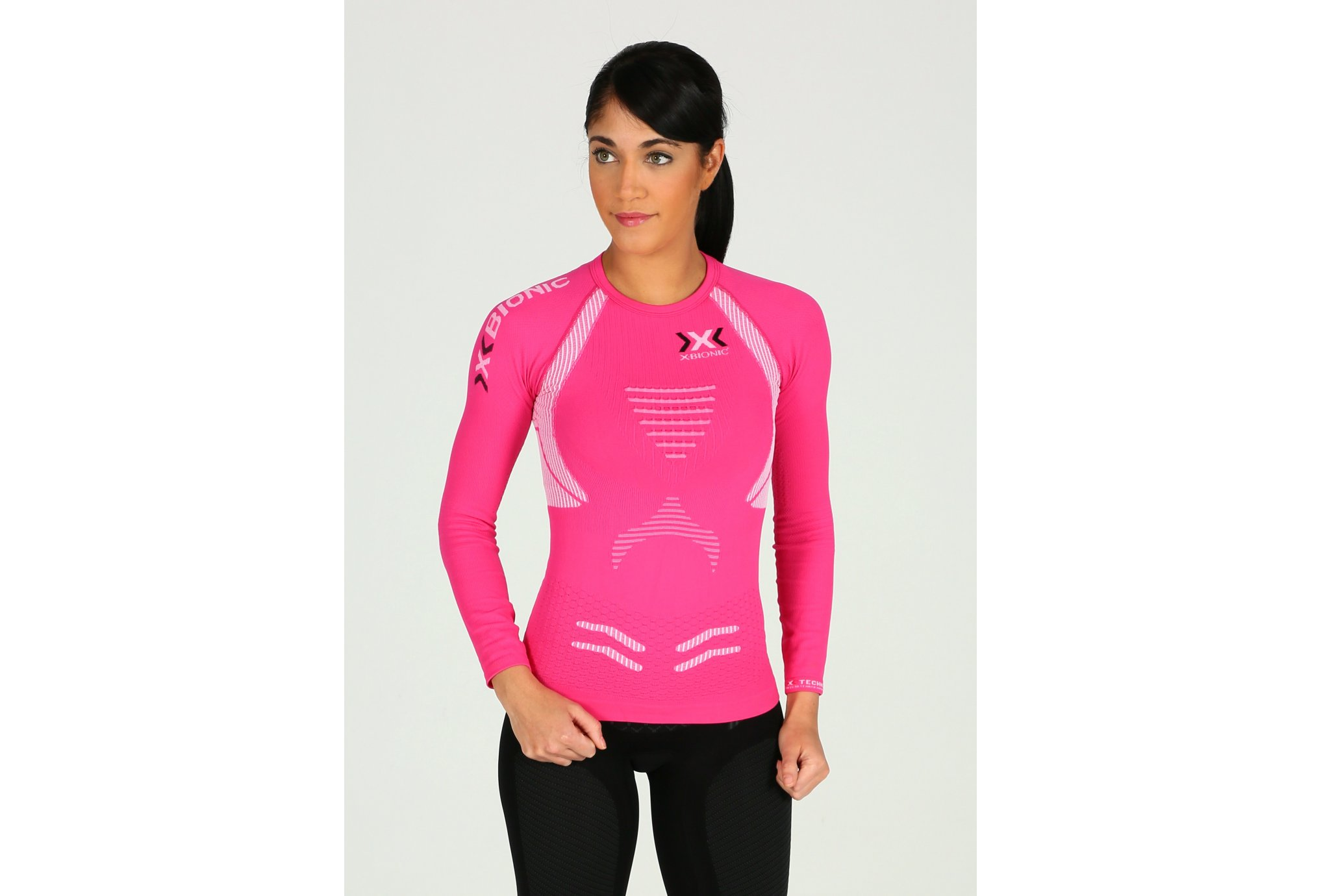 X-Bionic Tee-Shirt The Trick Running W vêtement running femme