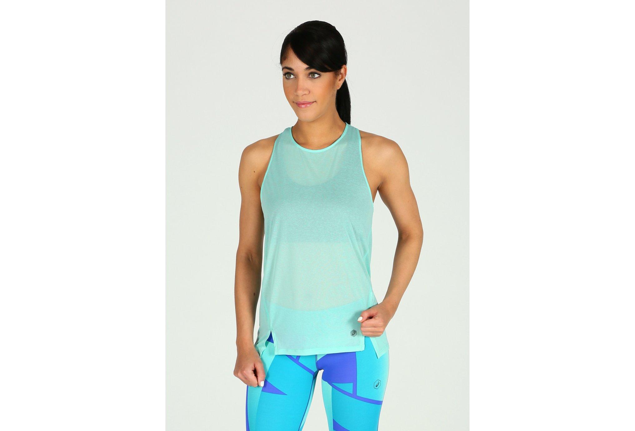 Asics Cool Tank W Diététique Vêtements femme