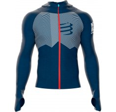 Compressport 3D Thermo Seamless Hoodie Mont Blanc 2018 M