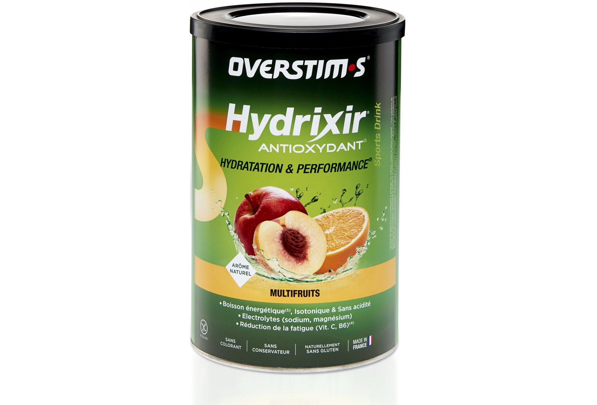 OVERSTIMS Hydrixir 600g - Multifruits Diététique Boissons