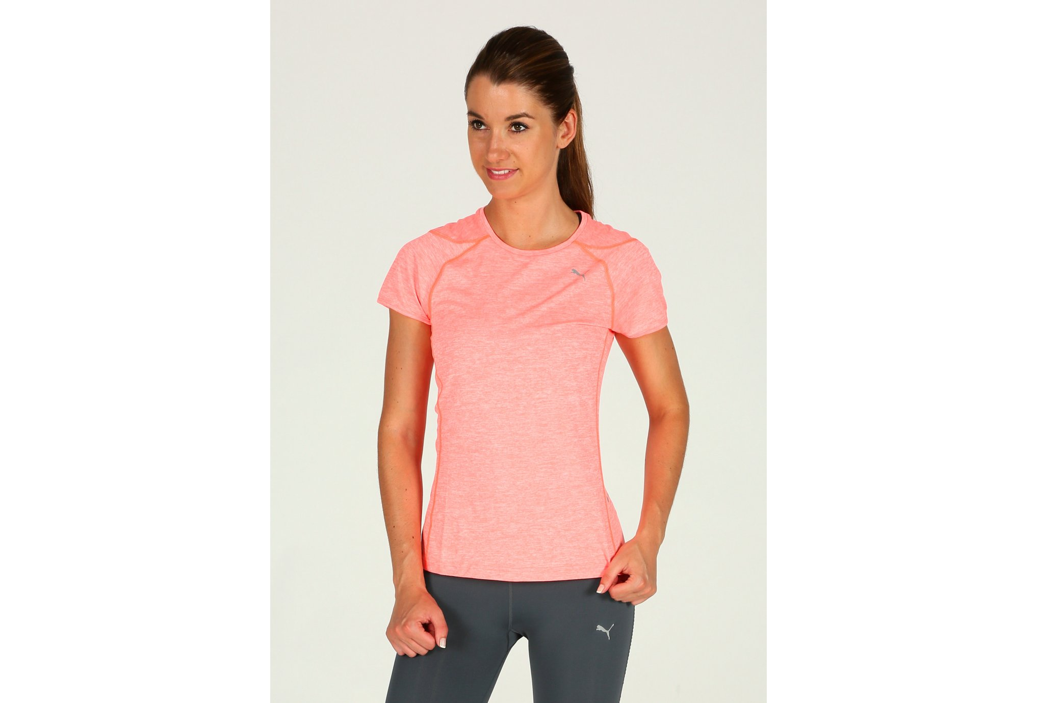 Puma Tee-Shirt Pure W vêtement running femme
