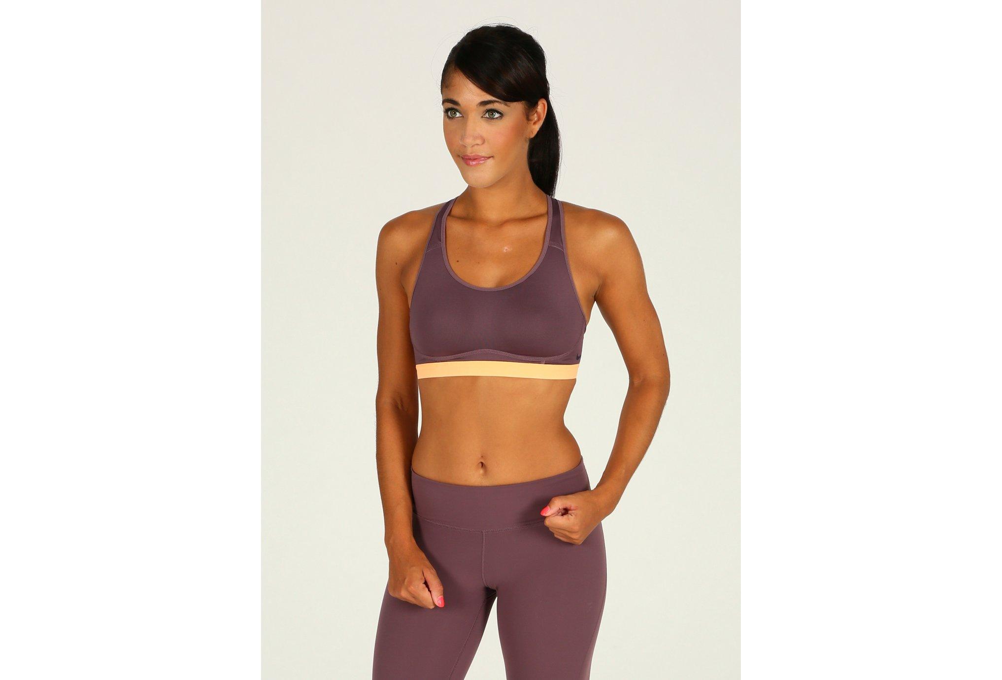 Nike Pro Brassière Fierce W Diététique Vêtements femme