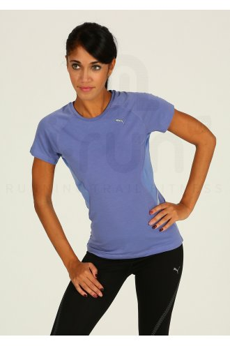 Puma Tee-Shirt Pure W pas cher - Destockage running Vêtements femme ... 2da6ebbb5ea8