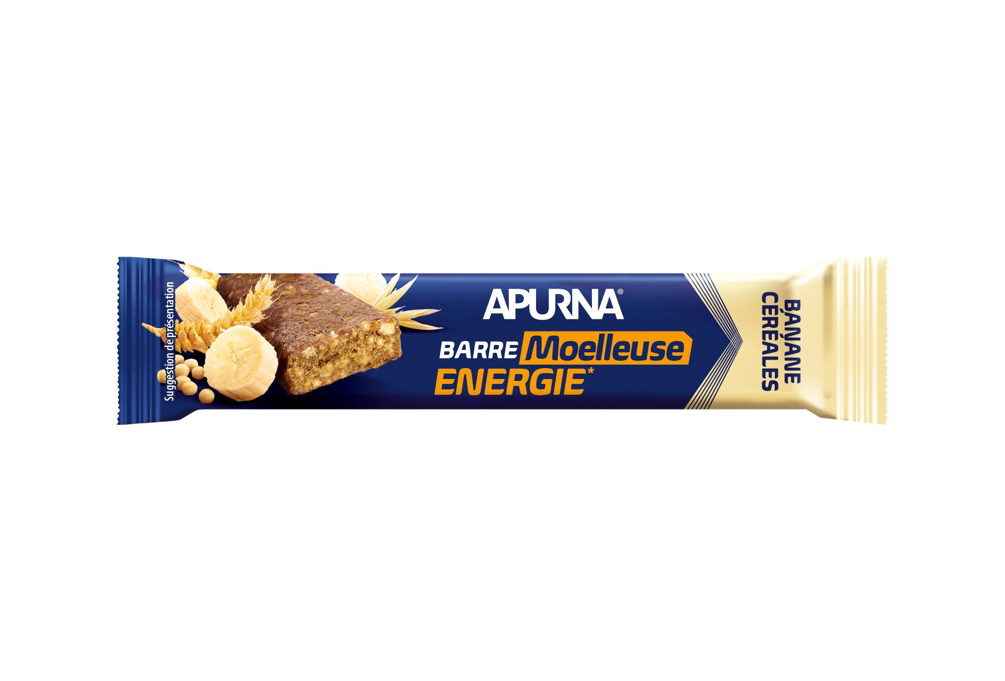 Apurna Barre énergétique - banane/céréales diététique barres