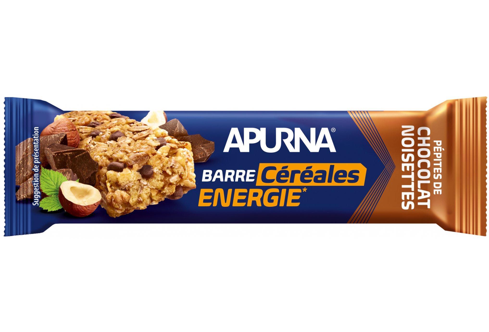 Apurna Barre énergétique - Pépites de chocolat/Noisettes Diététique Barres