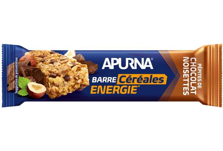 Apurna Barre énergétique - Pépites de chocolat/Noisettes
