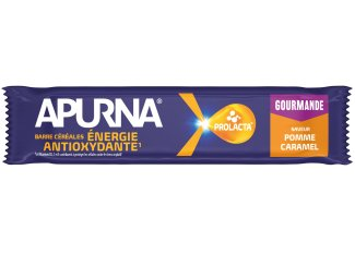 Apurna Barra energética - Manzana / Caramelo