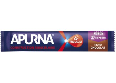 Apurna Barre Hyperprotéinée - Chocolat
