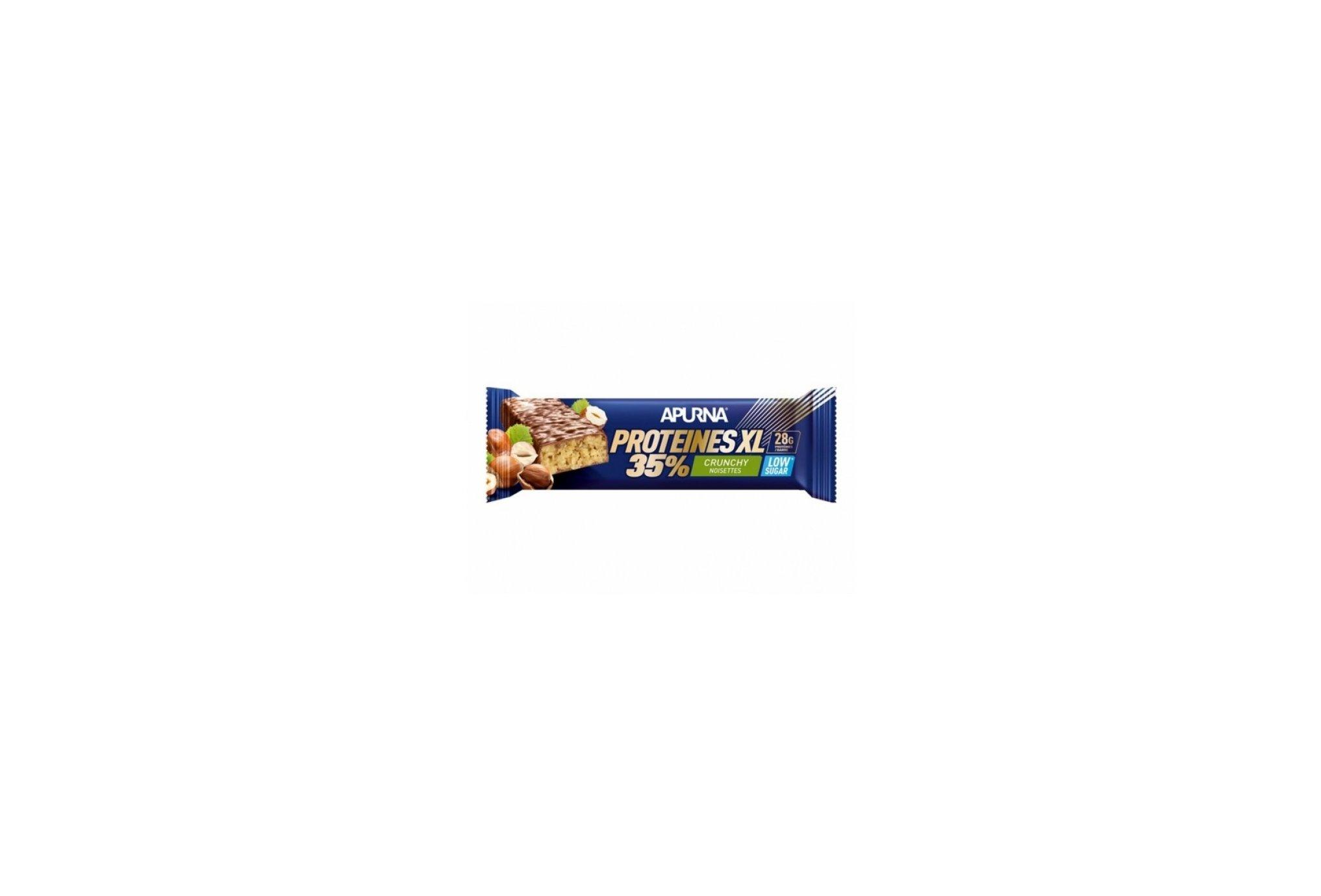 Apurna Barre Protéinée - Crunchy Noisettes Diététique Protéines / récupération