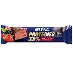 Apurna Barre Protéinée - Moelleuse Fruits Rouges