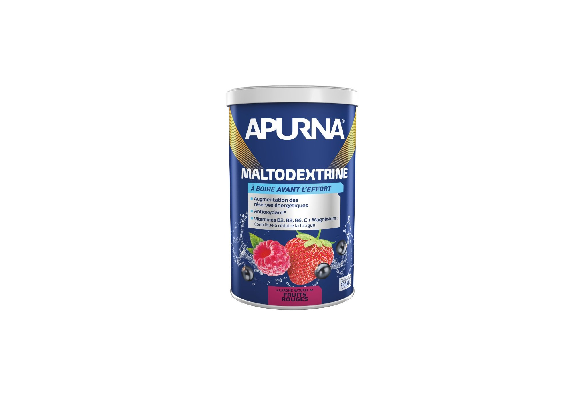 Apurna Boisson Maltodextrine - Fruits rouges Diététique Préparation