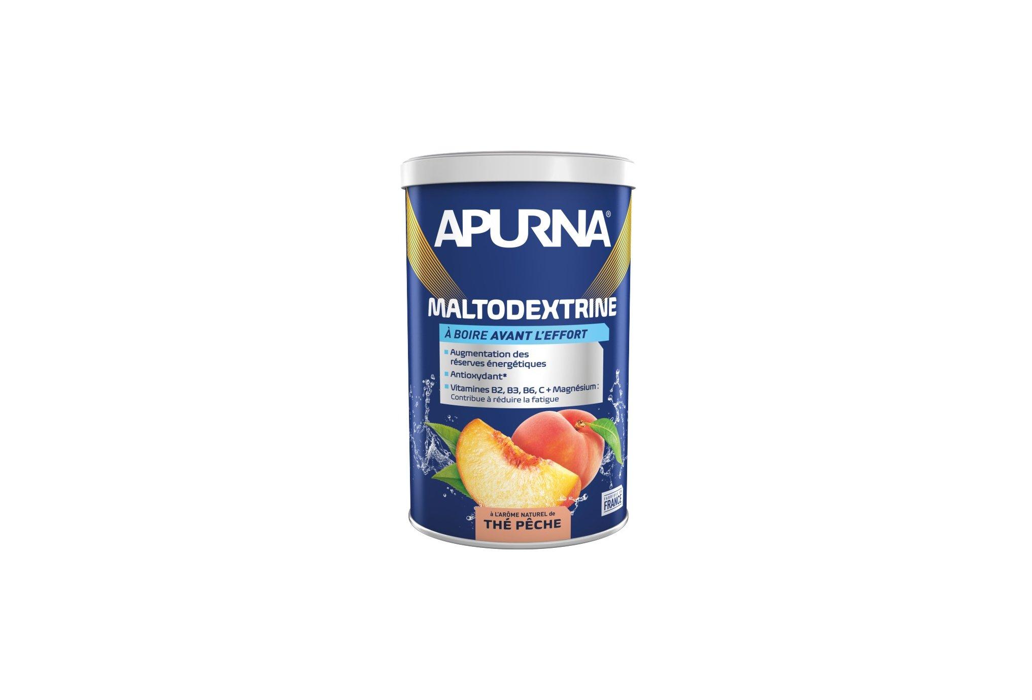 Apurna Boisson maltodextrine - thé pêche diététique préparation