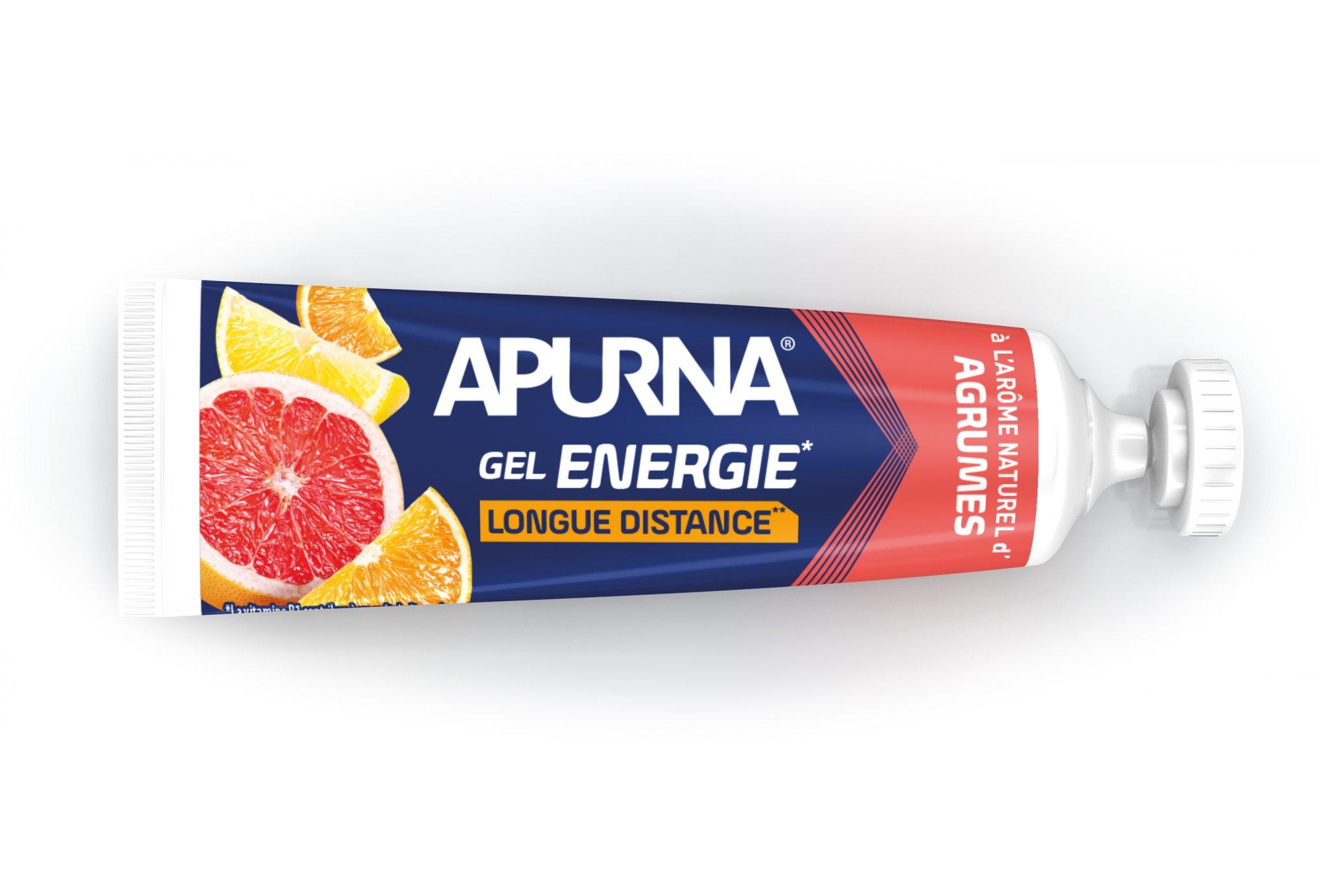 Apurna Energie longues distances - agrumes diététique gels