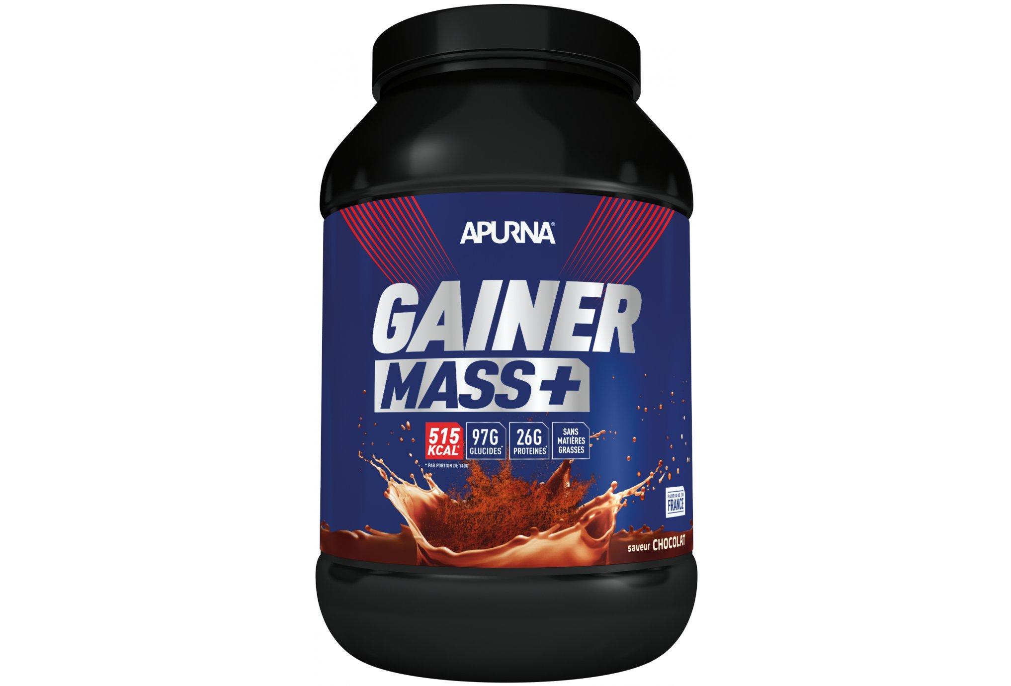 Apurna Gainer mass+ - chocolat 2 kg diététique protéines / récupération
