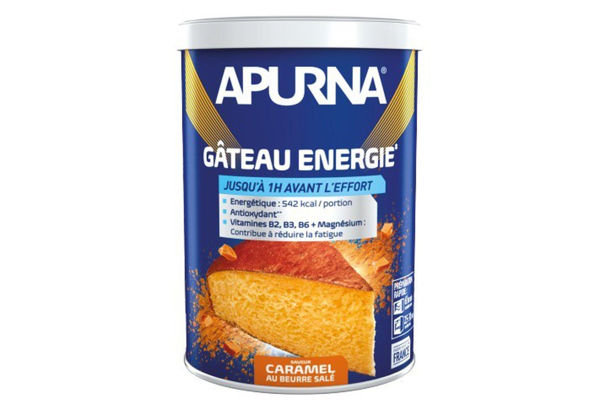 Apurna Gâteau Energie - Caramel beurre salé Diététique Préparation