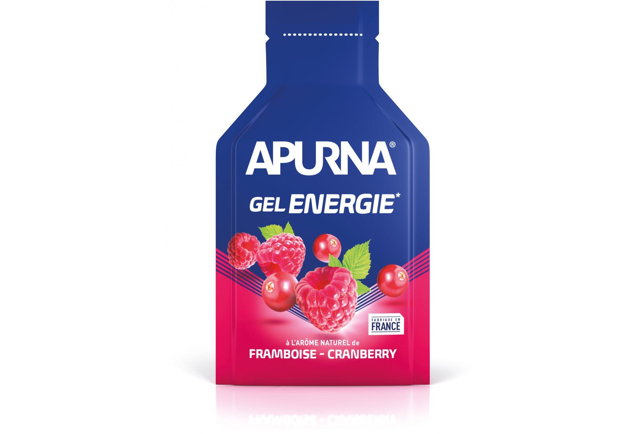Apurna Gel energie - framboise cranberry diététique gels