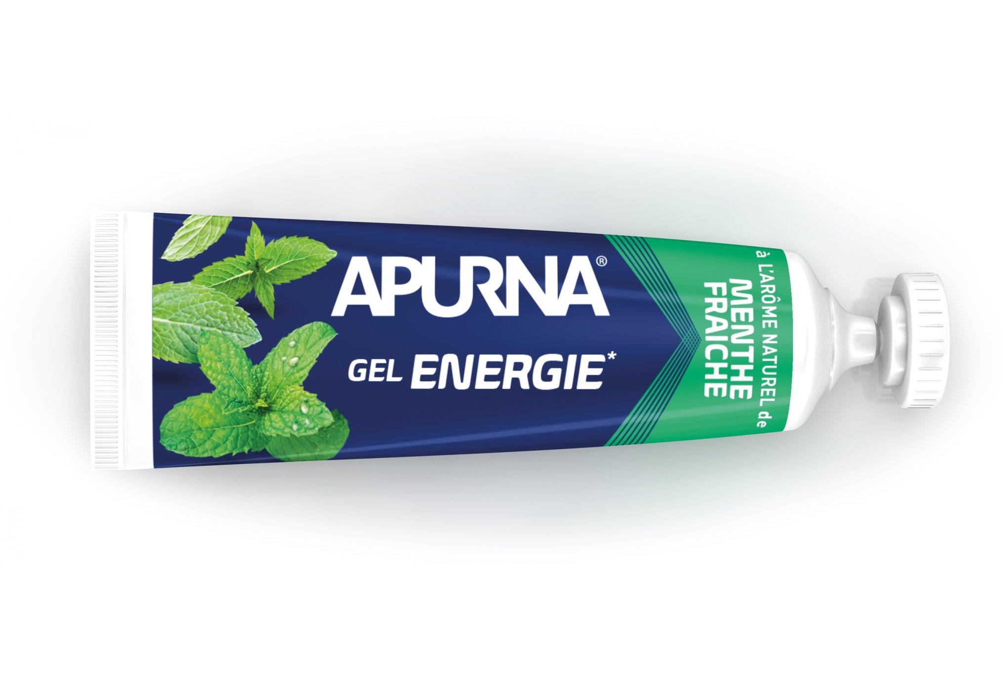 Apurna Gel energético-Menta fresca Diététique Gels