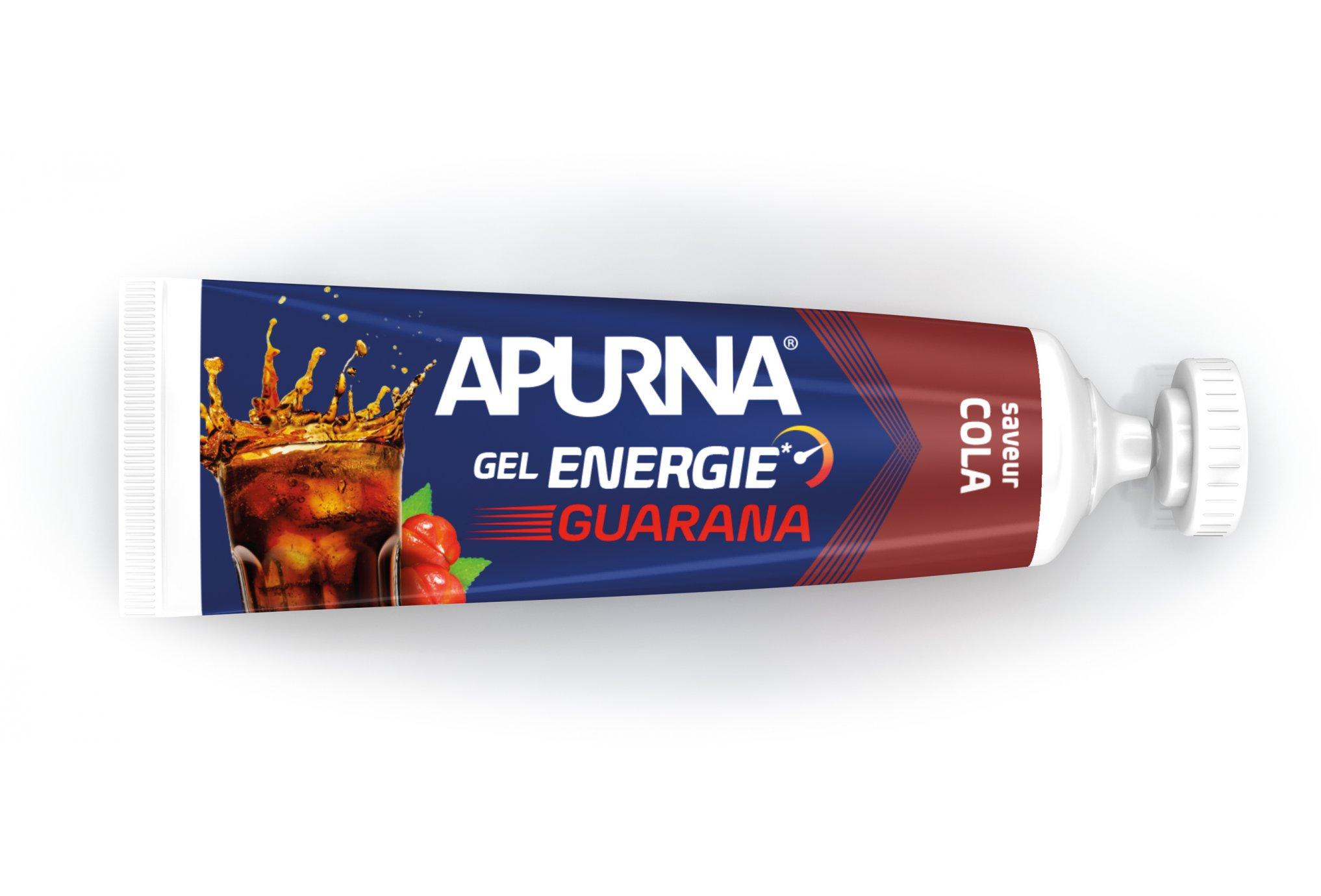 Apurna Gel energie guarana - cola diététique gels