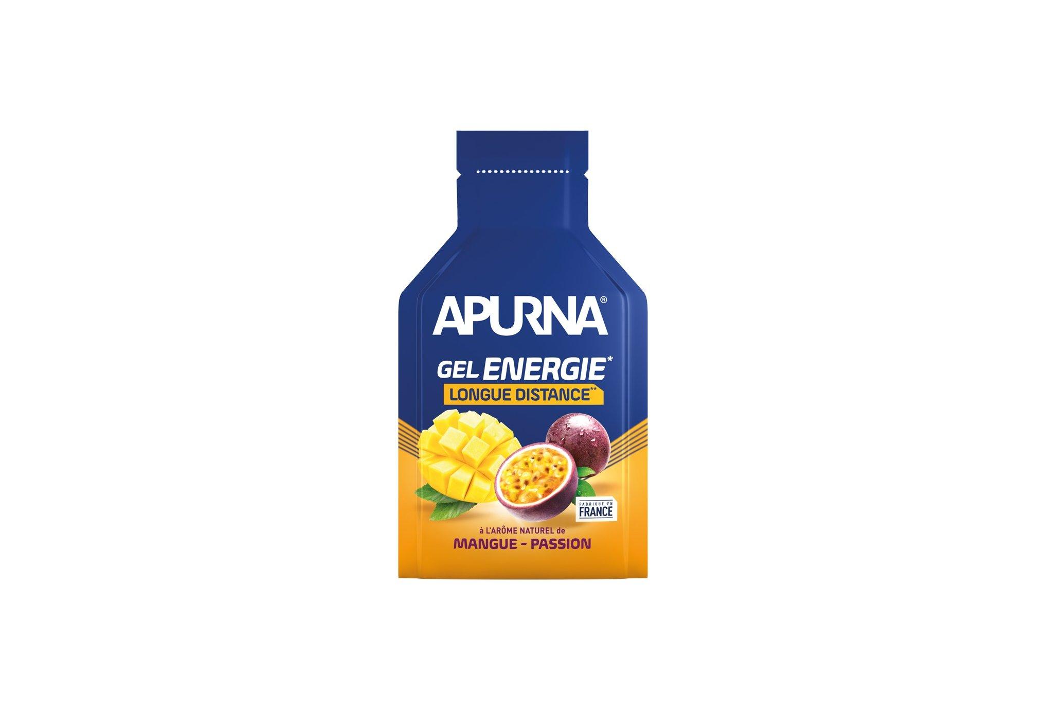 Apurna Gel Energie Longue distance Mangue/Passion Diététique Gels