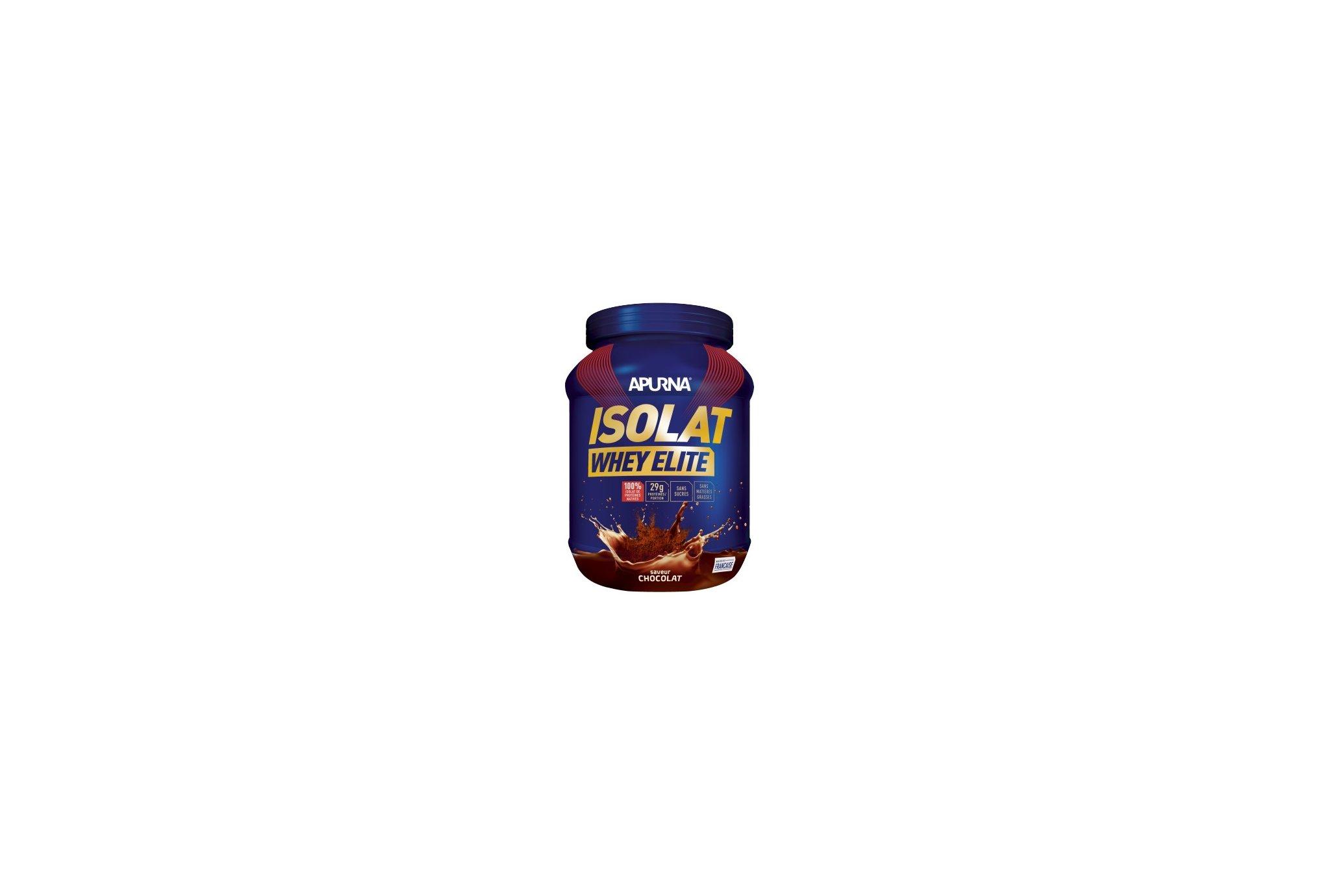 Apurna Isolat Whey Elite 720 g - Chocolat Diététique Protéines / récupération