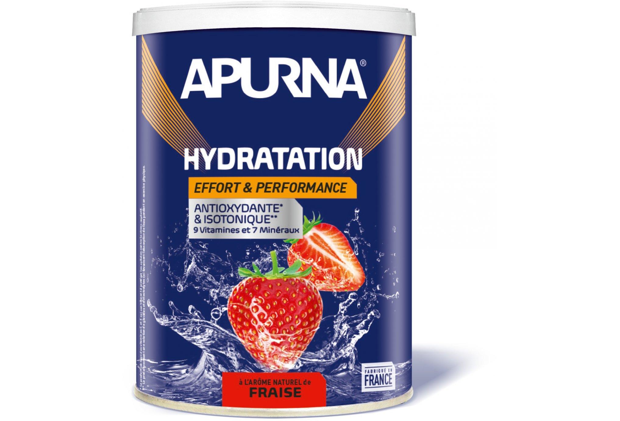 Apurna Préparation Hydratation - Fraise Diététique Boissons