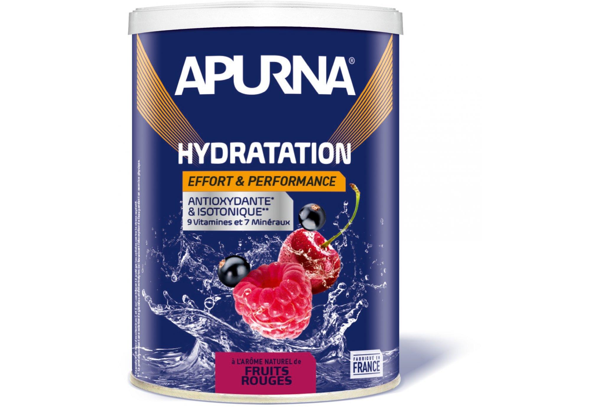 Apurna Préparation Hydratation - Fruits Rouges Diététique Boissons