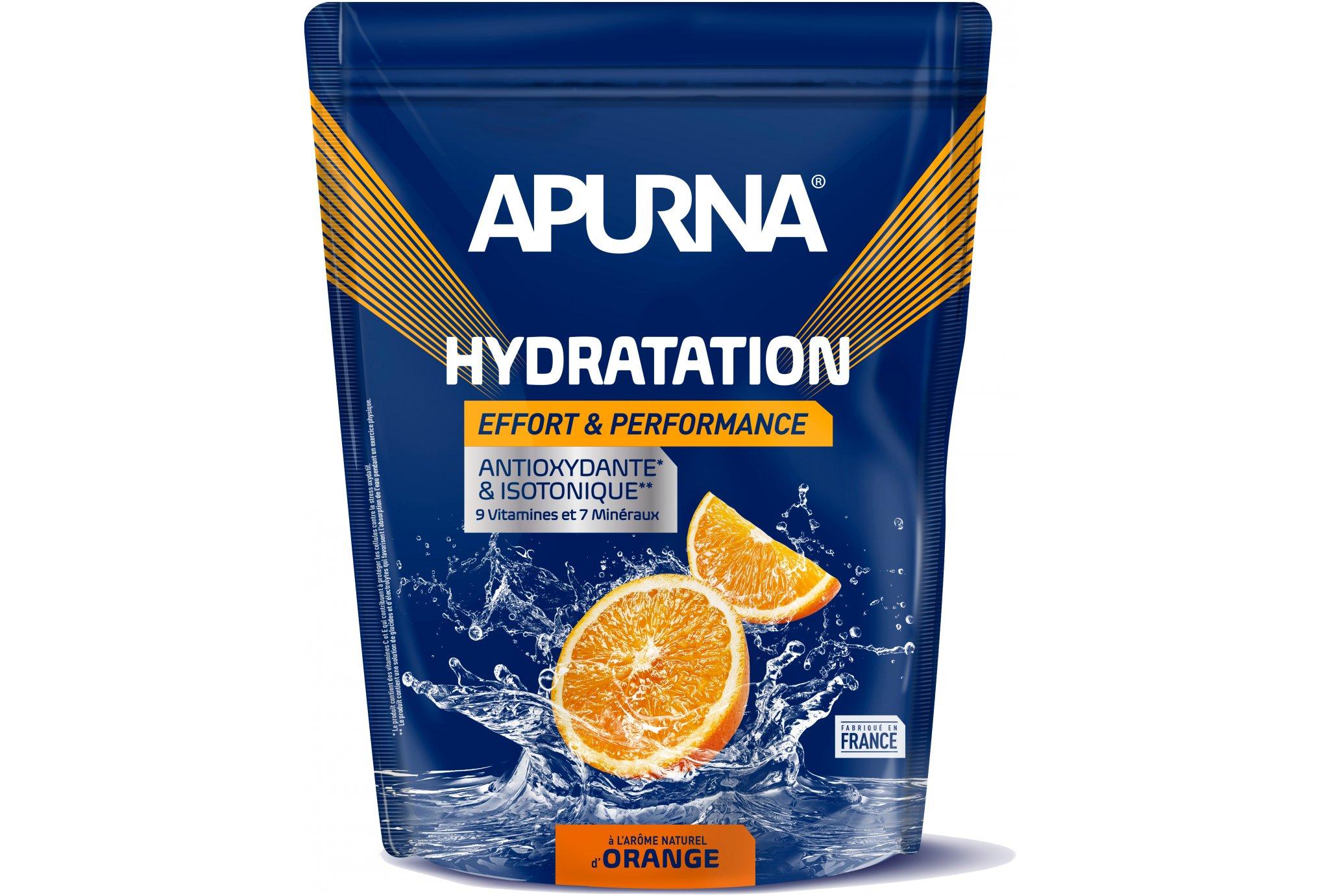 Apurna Préparation Hydratation - Orange Diététique Boissons