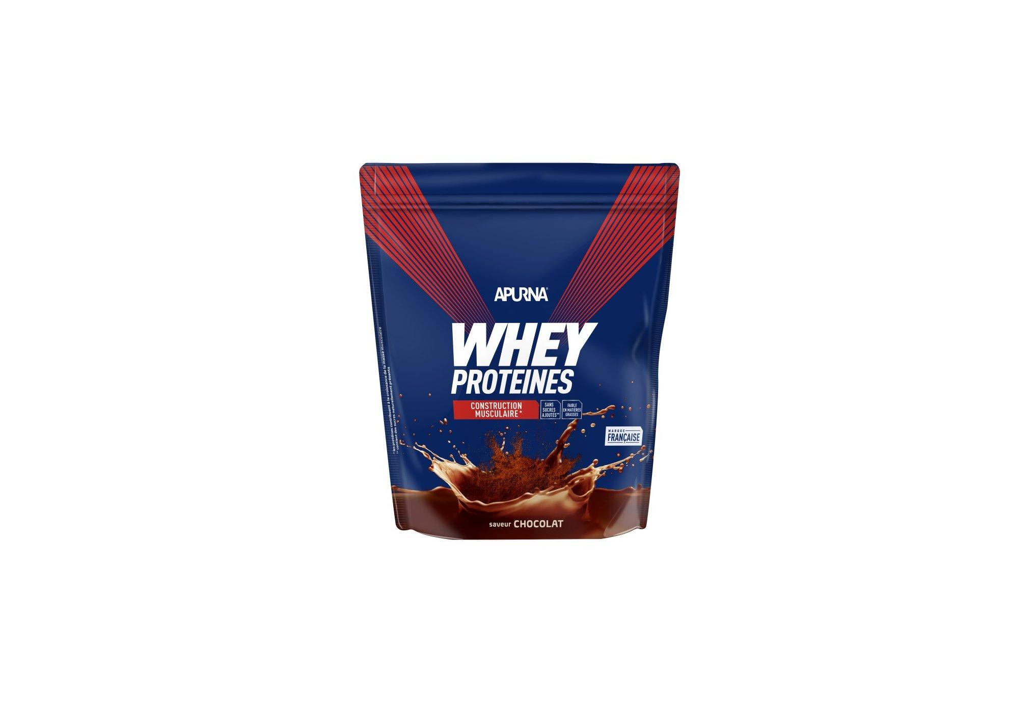 Apurna Whey protéines Chocolat - 720 g Diététique Protéines / récupération