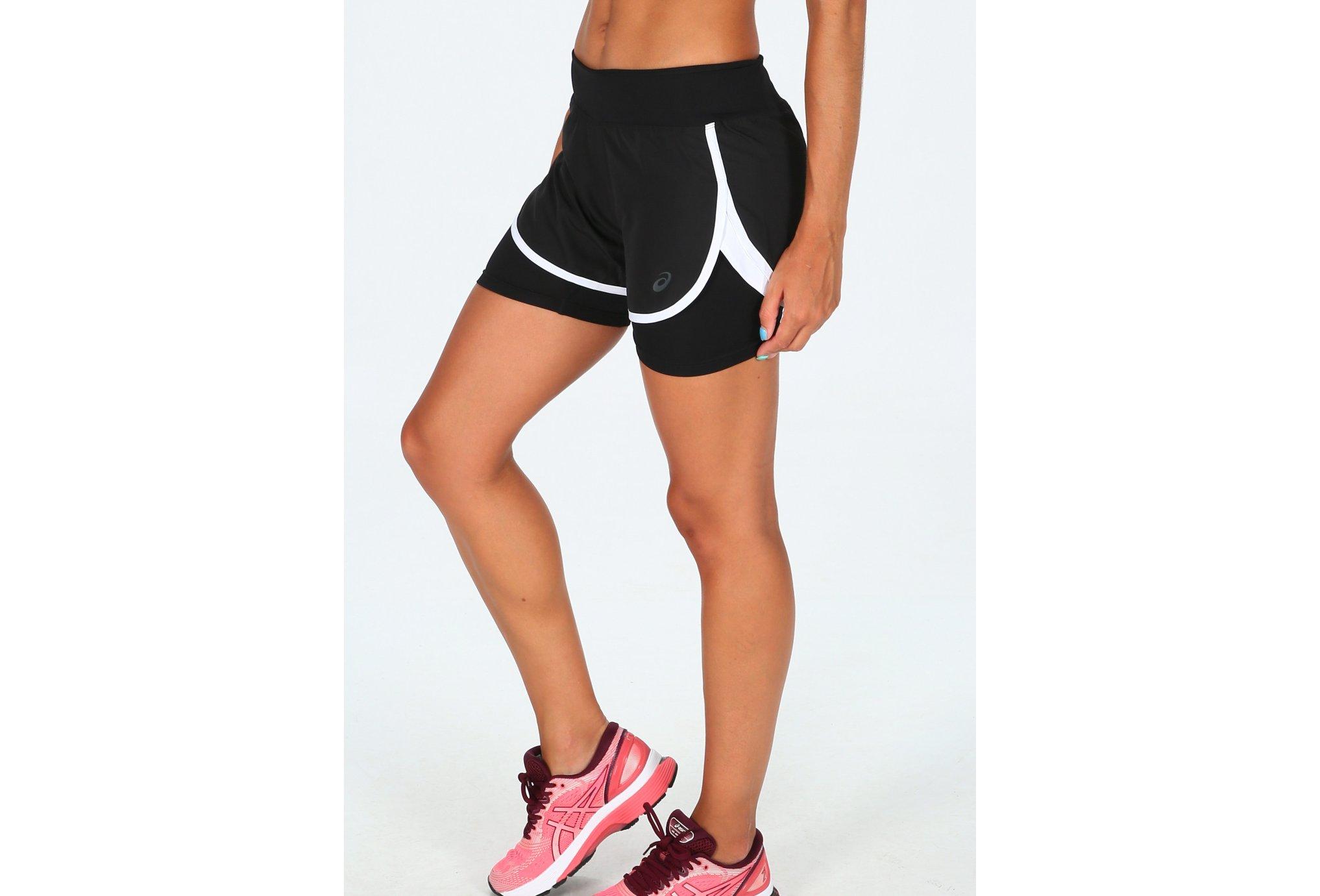 Asics 2 en 1 W vêtement running femme