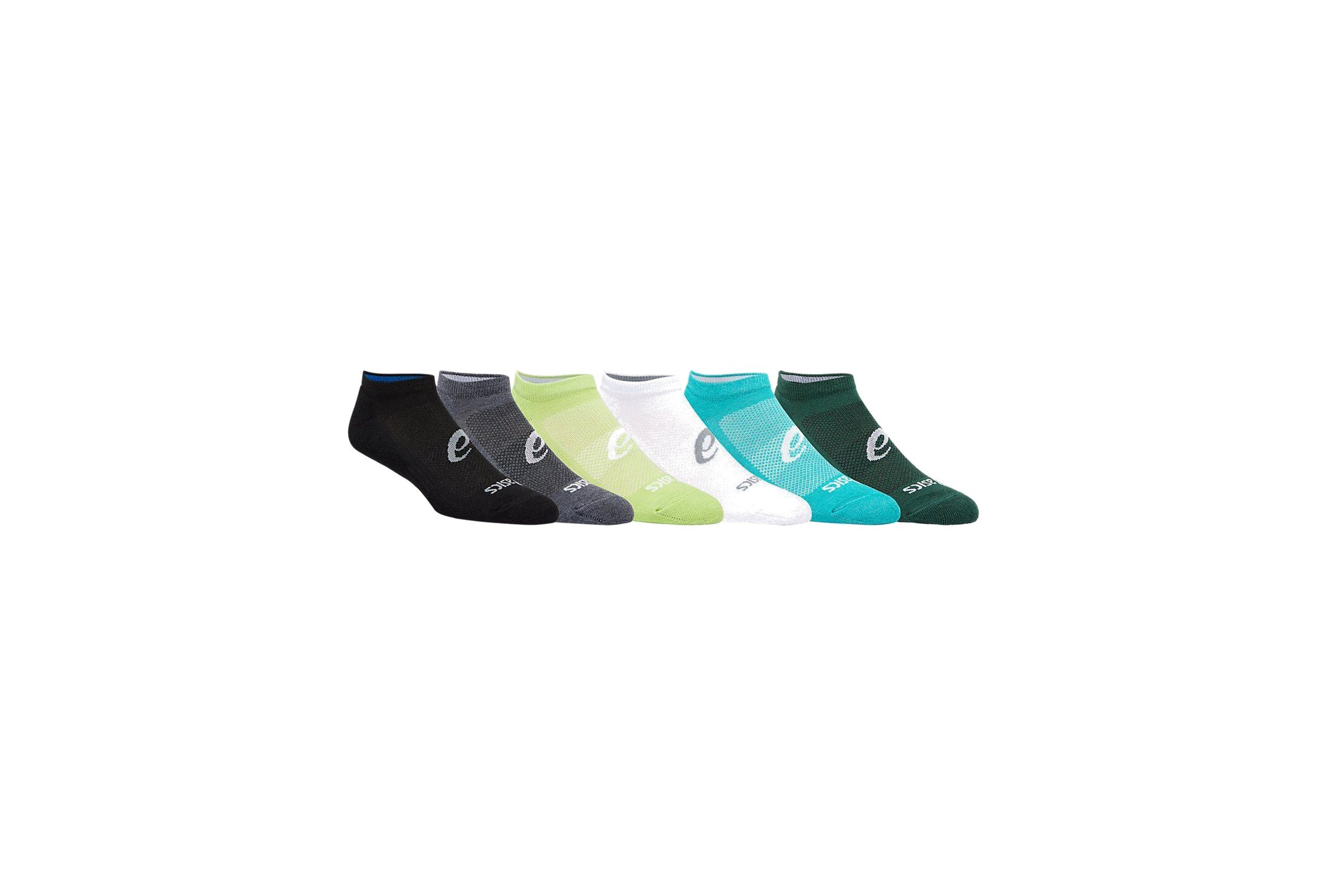 Asics 6 paires Invisible Sock Chaussettes