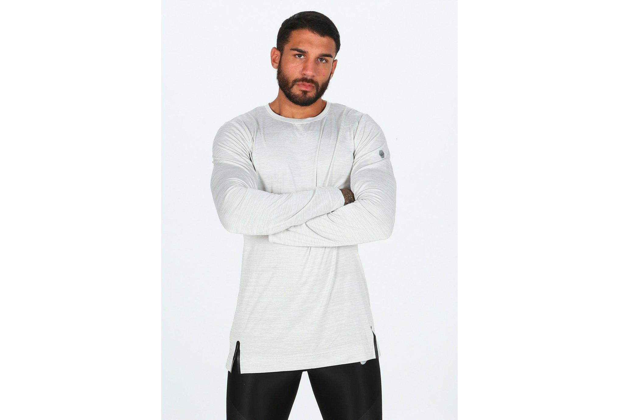 Asics Brushed LS Crew M Diététique Vêtements homme