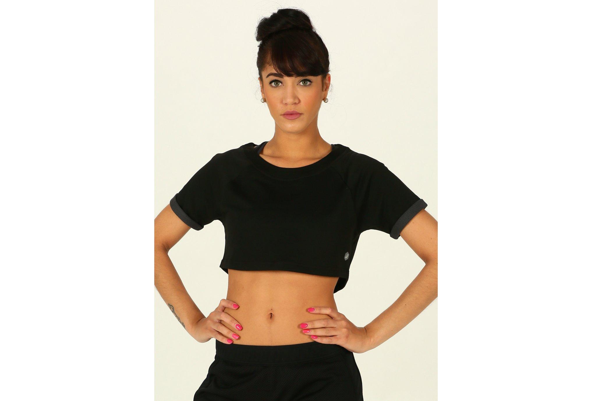 Asics Crop Top W vêtement running femme