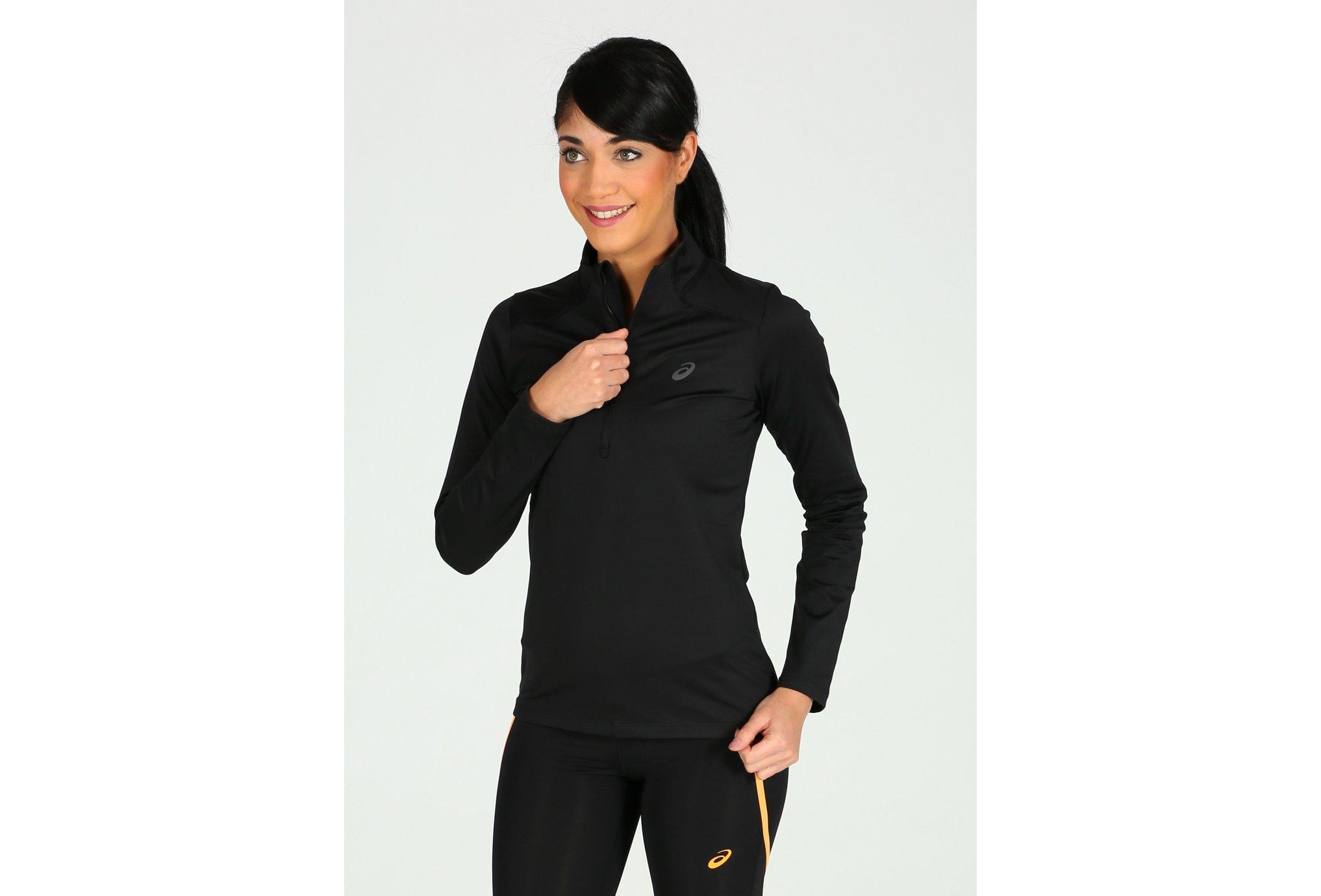 Asics Essential winter 1/2 zip w vêtement running femme