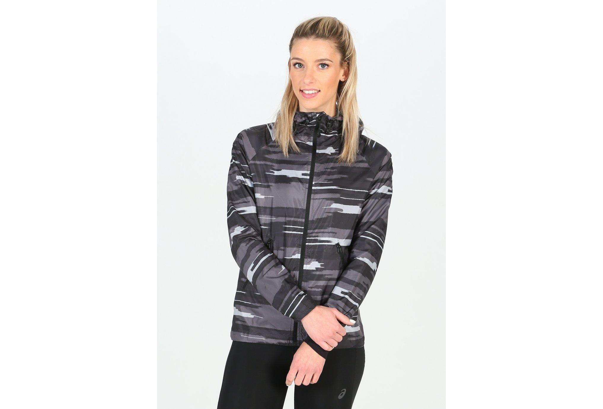 Asics FuzeX Packable JKT W Diététique Vêtements femme