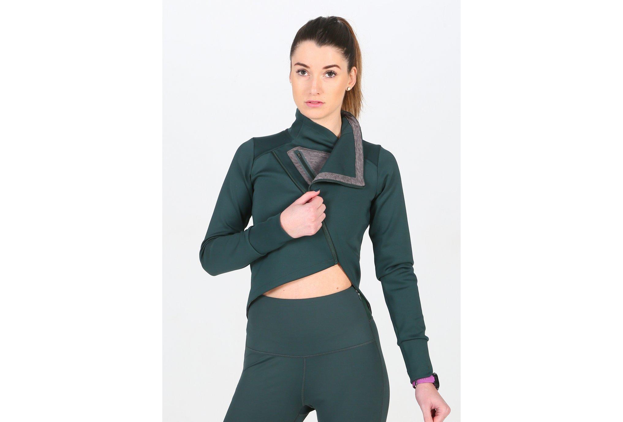 Asics FuzeX Wrap Jacket W Diététique Vêtements femme