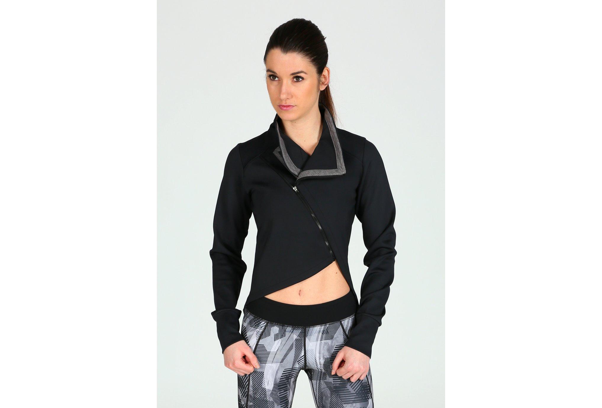 Asics FuzeX Wrap Jacket W vêtement running femme
