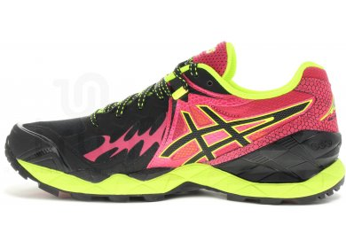 ASICS GEL Fuji Endurance Plasmaguard Chaussures running pour Femme Noir