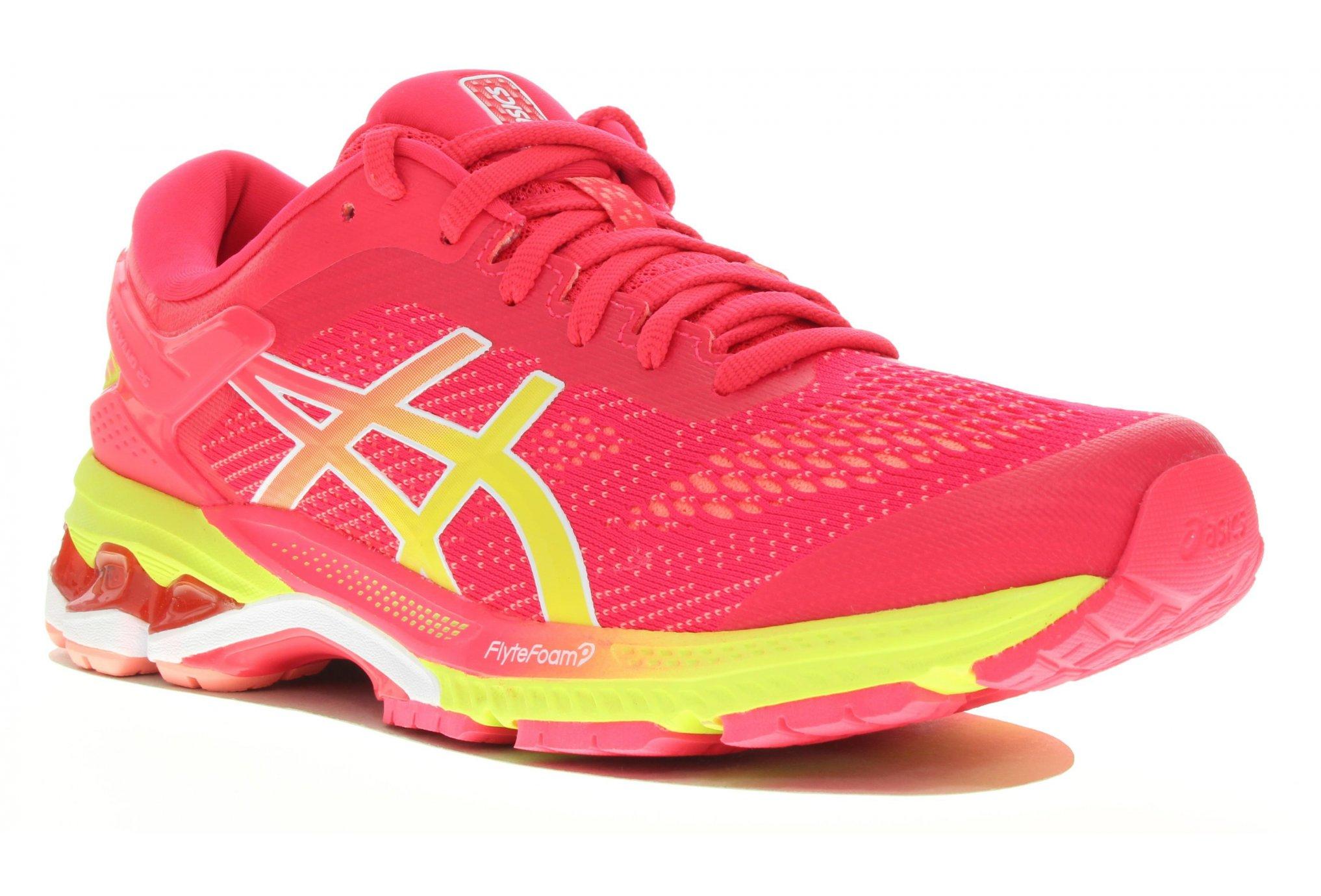 Asics Gel Kayano 26 Shine Chaussures running femme